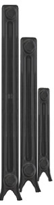 Sovereign 2 column cast iron radiators - in several heights